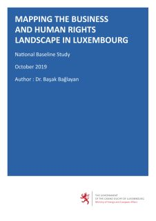 Mapping the Business and Human Rights Landscape in Luxembourg